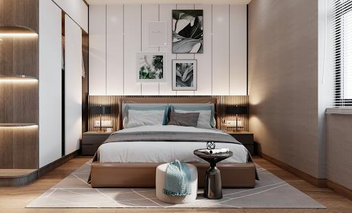 Nội thất căn hộ được lựa chọn và trang trí theo phong cách riêng biệt