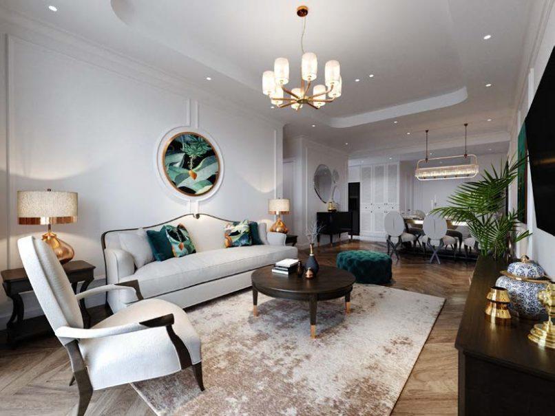 Thiết kế căn hộ Feliz Hoe mang phong cách Á Đông