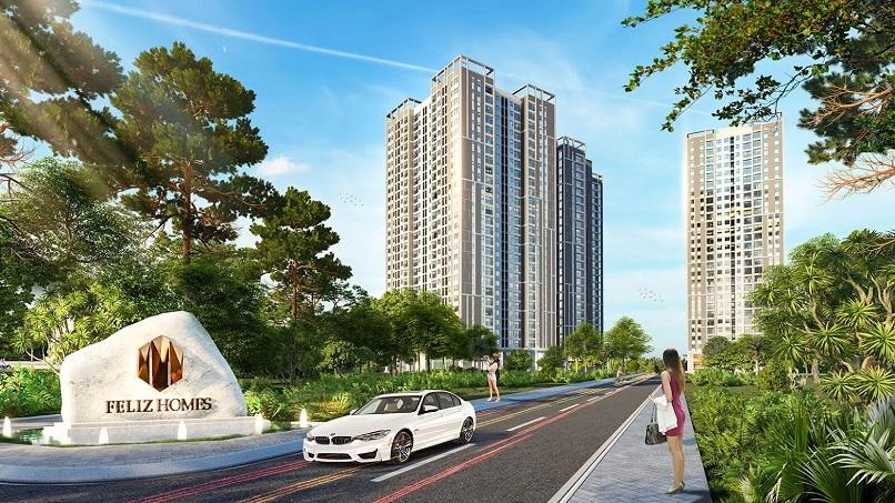 Dự án Feliz Homes được thiết kế bởi ECOLAND