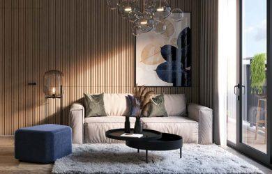 Thiết kế hiện đại trong căn hộ Feliz Home
